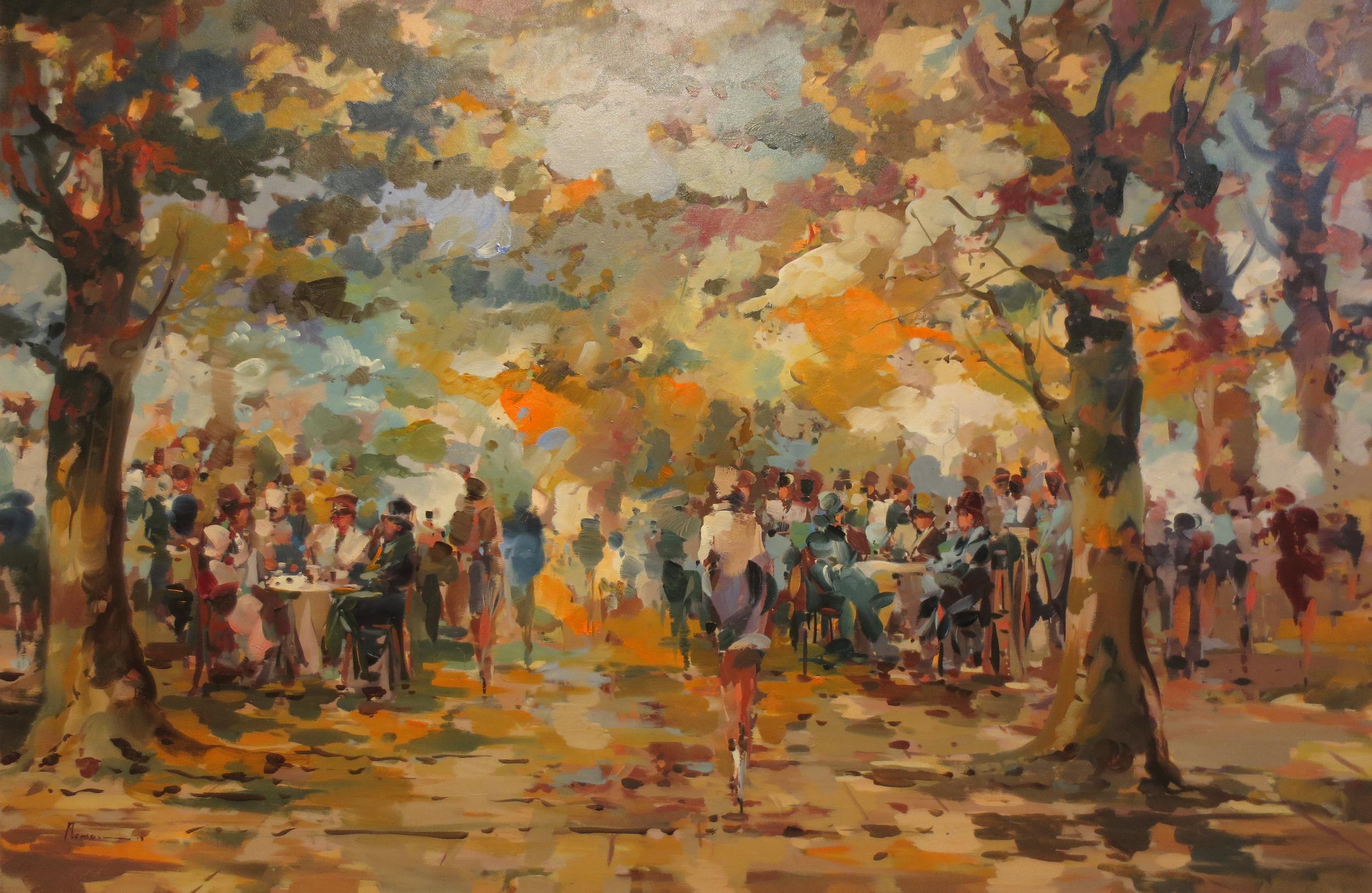 Collobriere, Provence 80 x 120 cm