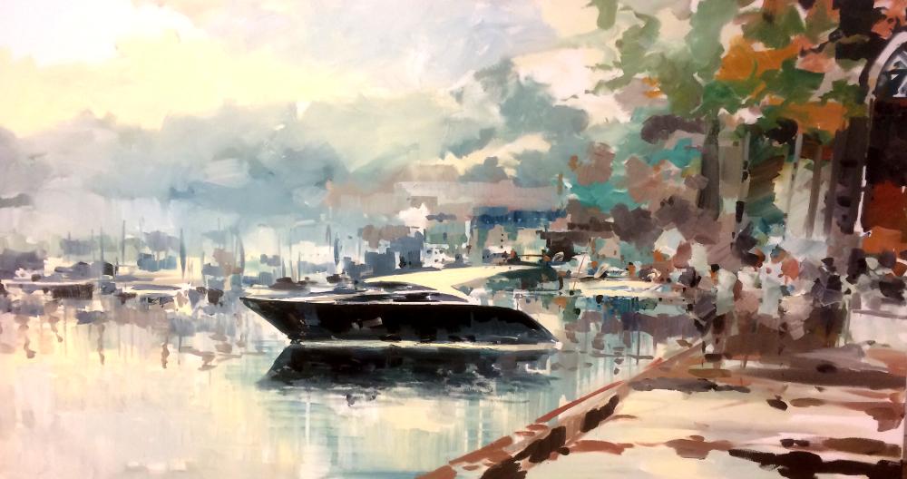 Saint-Tropez 100 x 180 cm 2020